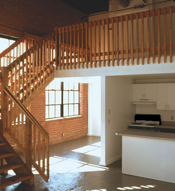 The Garage Loft Apartments Features