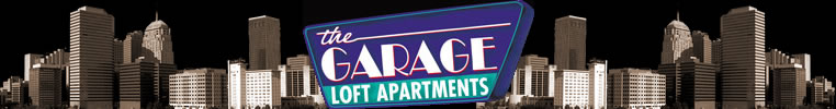 The Garage Loft Apartments Marquee